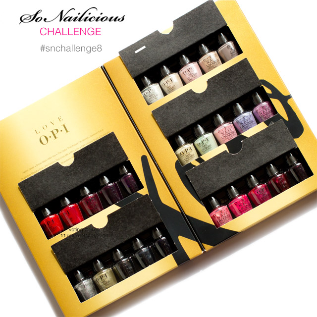 christmas nail art challenge, love opi gift set win, 1