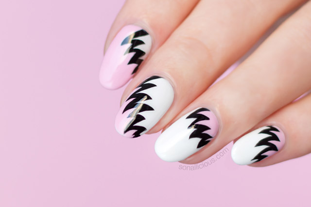 Nail art gallery the hottest nail art trend 80s nail art prinsesfo Images