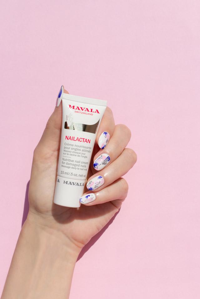 behandeling voor beschadigde nagels, mavala nailactan nagelcrème