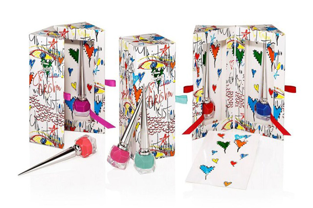 Christian Louboutin Loubitag Nail Polish Collection