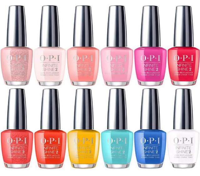 Nail Polish Colors Spring 2018 Opi: The Top 4 New Spring Nail Polish Collections To Covet