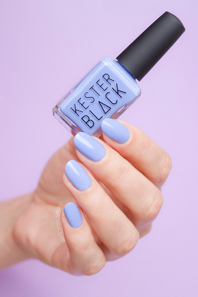 kester black aquarius, purple nail polish