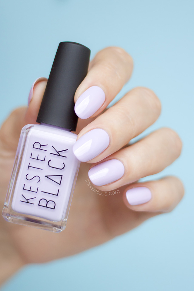 kester black luna, purple nails