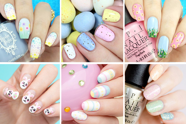 12 easy easter nail designs