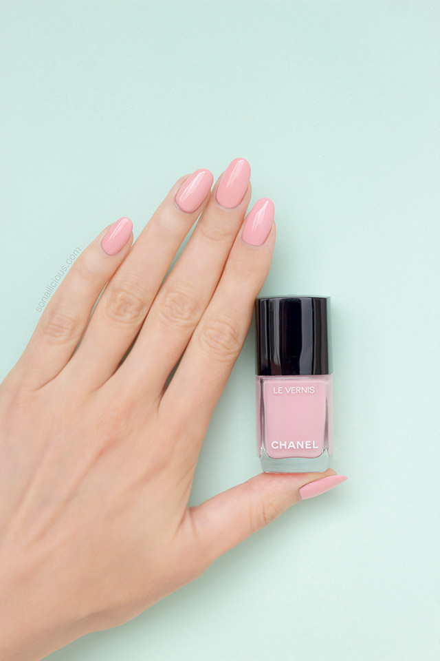 chanel 588 nuvola rosa polish