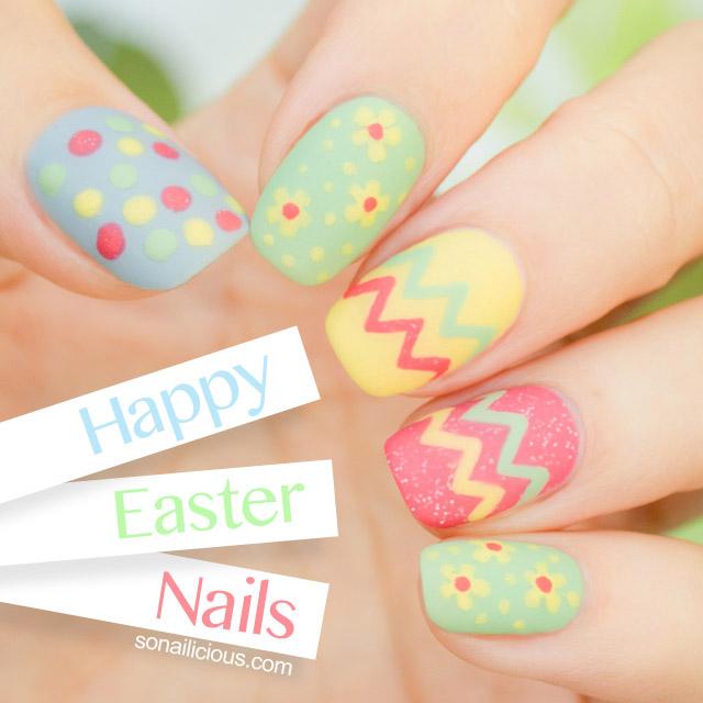 easy easter nail design
