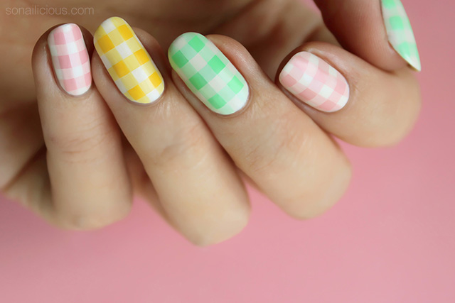 pastel nails, easter nails how to