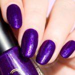 Purple Glitter Rain Is the Most Ultra Violet Nail Polish I've Ever Seen