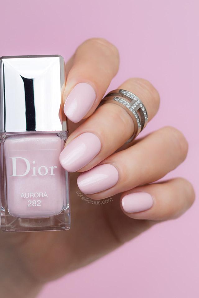 dior pink nail polish