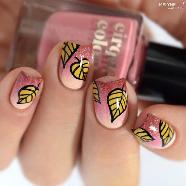 Nail art d automne