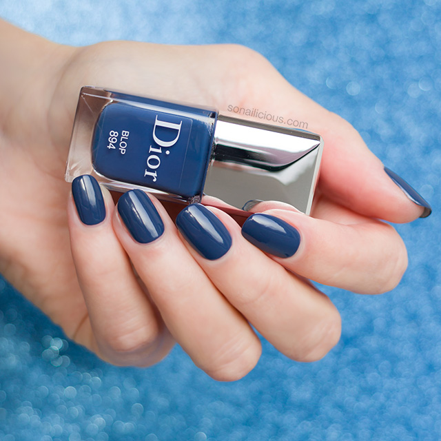 Dior Blop The Only Denim Blue Nail Polish You Need In Your Stash Sonailicious