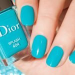 Nails of the Day: Turquoise Dreams ft. Dior Splash