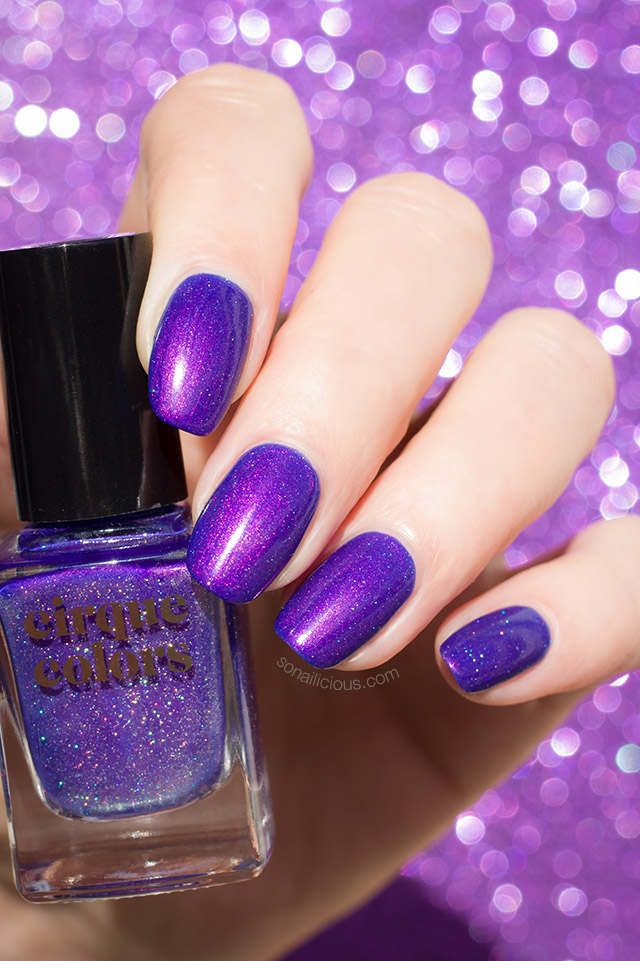 beautiful purple nail polish cirque colors dusky skies