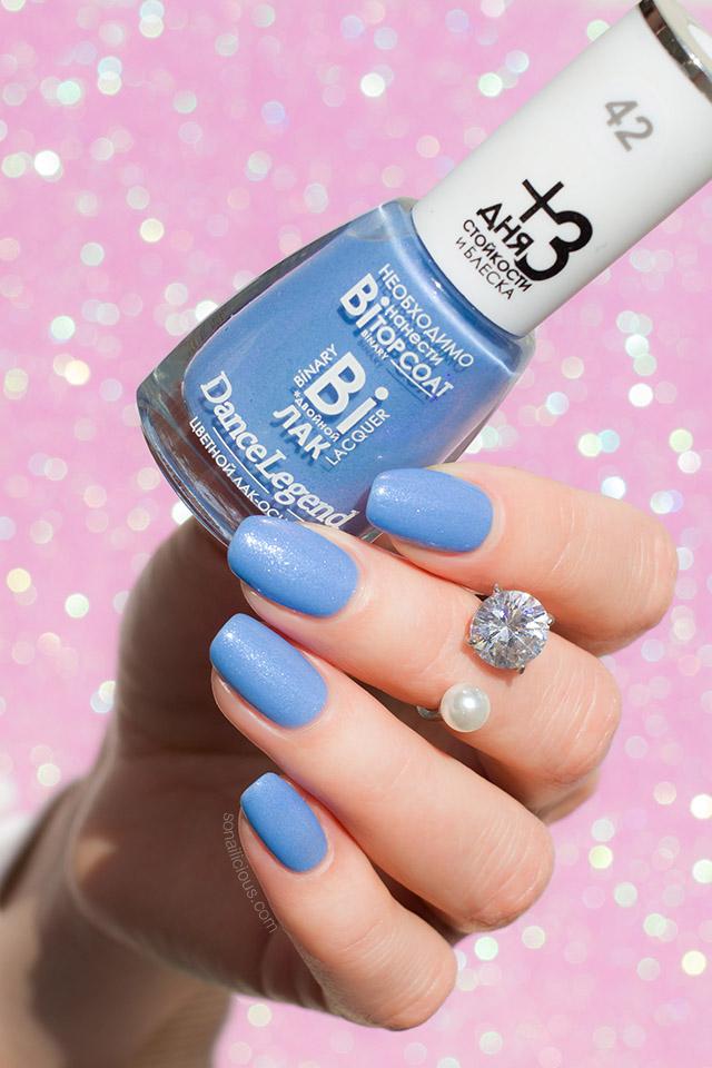 blue duochrome nail polish dance legend emma