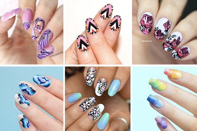 12 beautiful nails to try