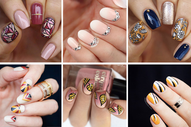 12 fall nails to try