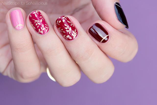 autumn nail art how to