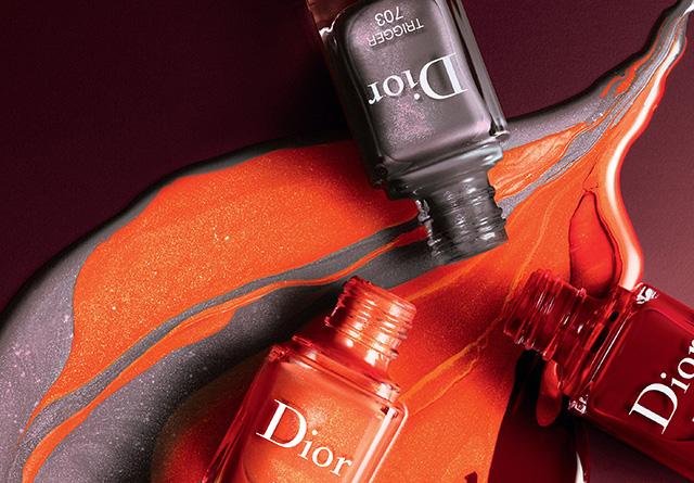 fall 2018 nail polish colours, Dior Dior en Diable nail polish