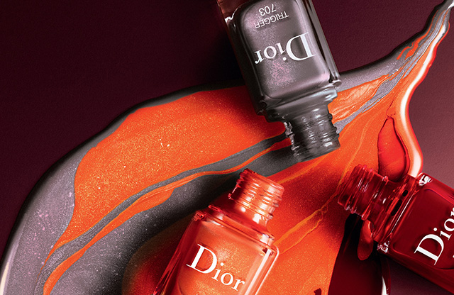 fall 2018 nail polish, Dior Dior en Diable nail polish