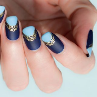 reverse french manicure how to