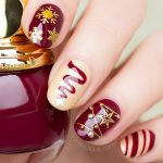 Ultra Festive Christmas Nail Design. Plus, How-To!