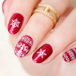 Christmas Sweater Nails. Plus, Exciting News!