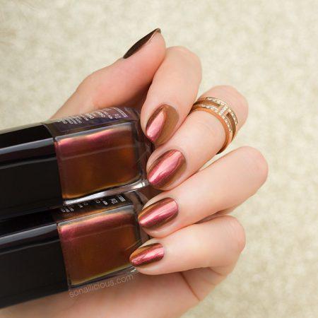 chanel nail polish opulence review,