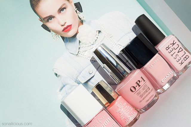 5 best Millennial Pink nail polishes