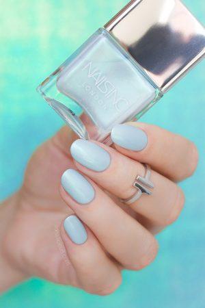 nailsinc Mermaid Parade mint nail polish