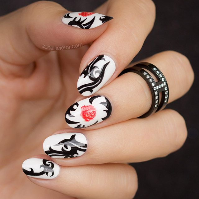 red hot chili peppers nails, 1