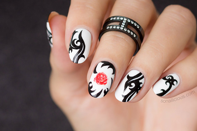 red hot chili peppers nails