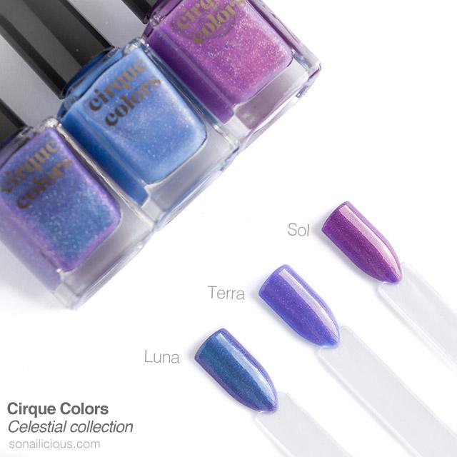 cirque colours thermal nail polish review