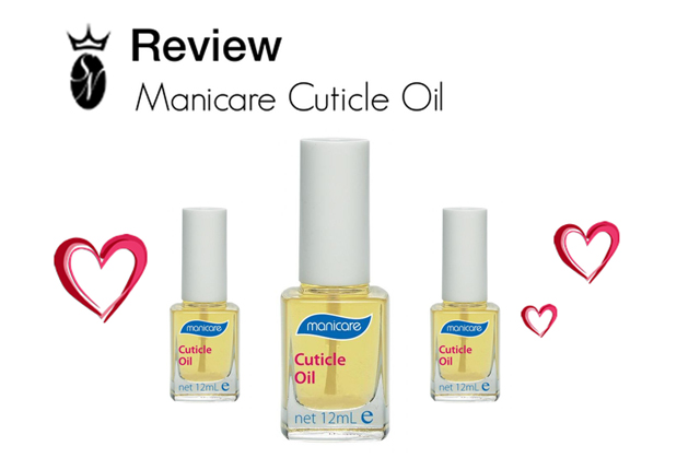 manicare cuticle oil review