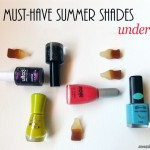 5 Must-Have Summer Nail Polish Shades Under $5
