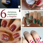 6 Easy Christmas Nail Art Ideas