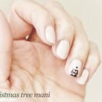 Christmas Tree Nail Art Tutorial