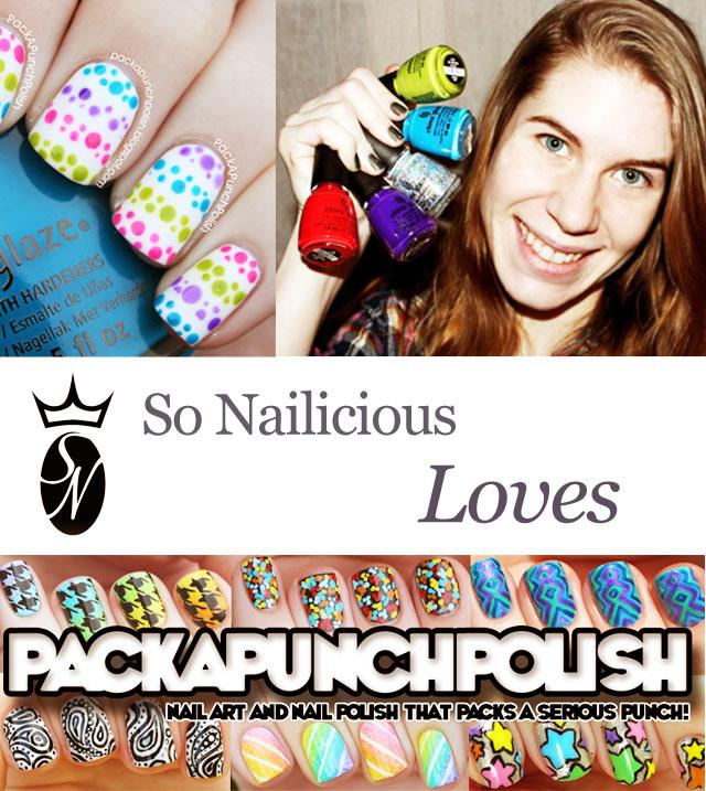 sonailicious loves packapunchpolish nail blogger