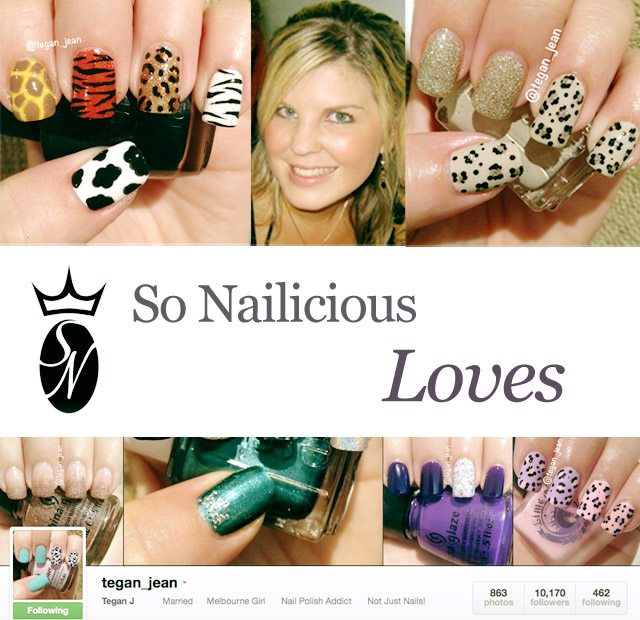 nails instagram tegan jean