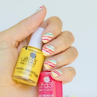 Rainbow Candy Nails How To
