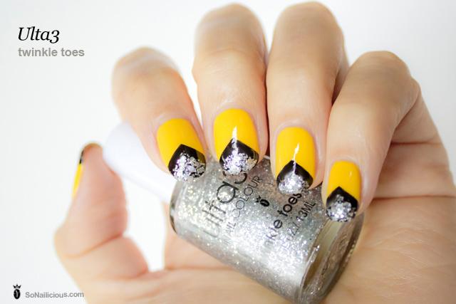 ulta3 twinkle toes silver glitter