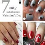 7 Easy Valentine's Day Nail Designs