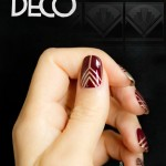 28 days of SoNailicious Nails – Day 28 – Art Deco nails