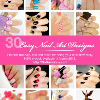 easy nail art designs tutorials ebook