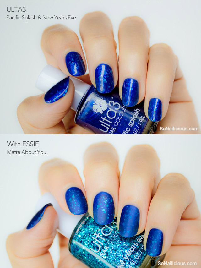 essie matte top coat, jelly sandwich nails, ulta3