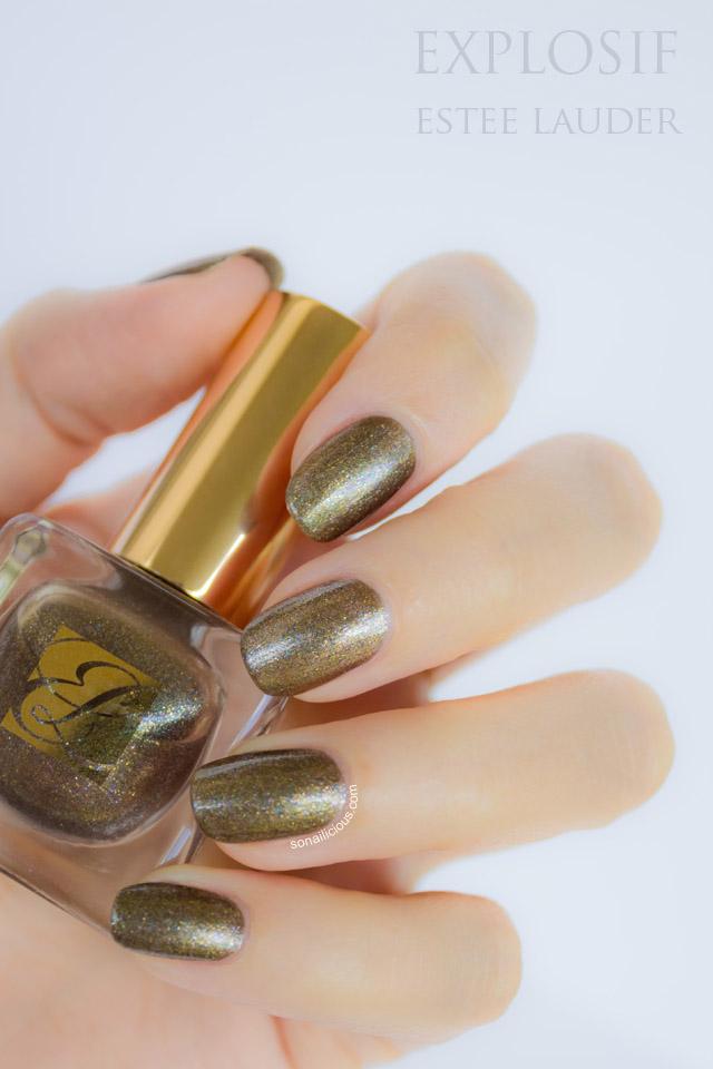 explosif estee lauder nail polish