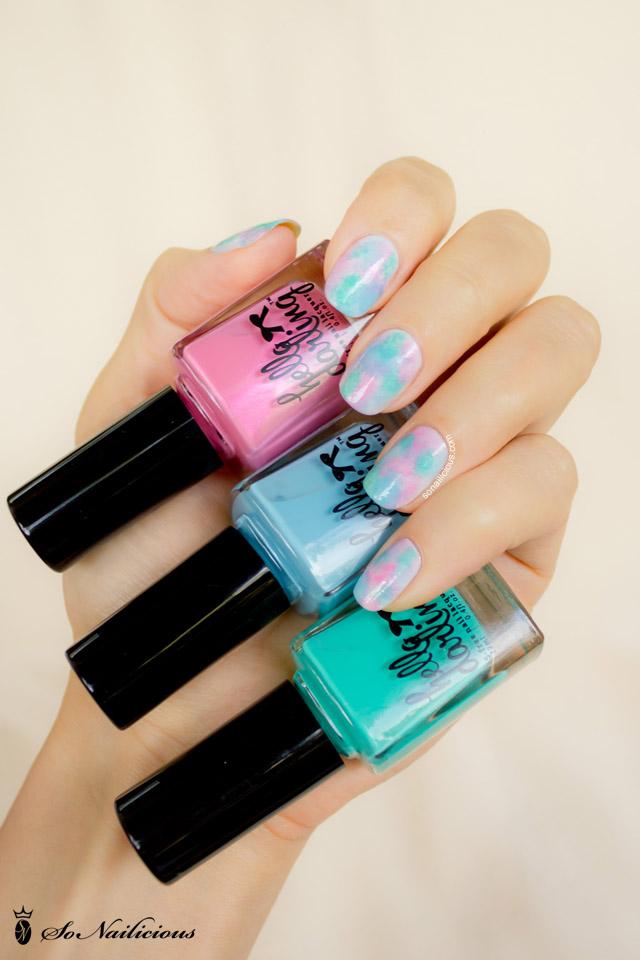hello darling nail polish, pretty pastel nails,