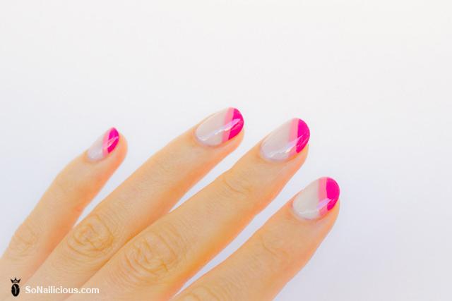 pretty french manicure