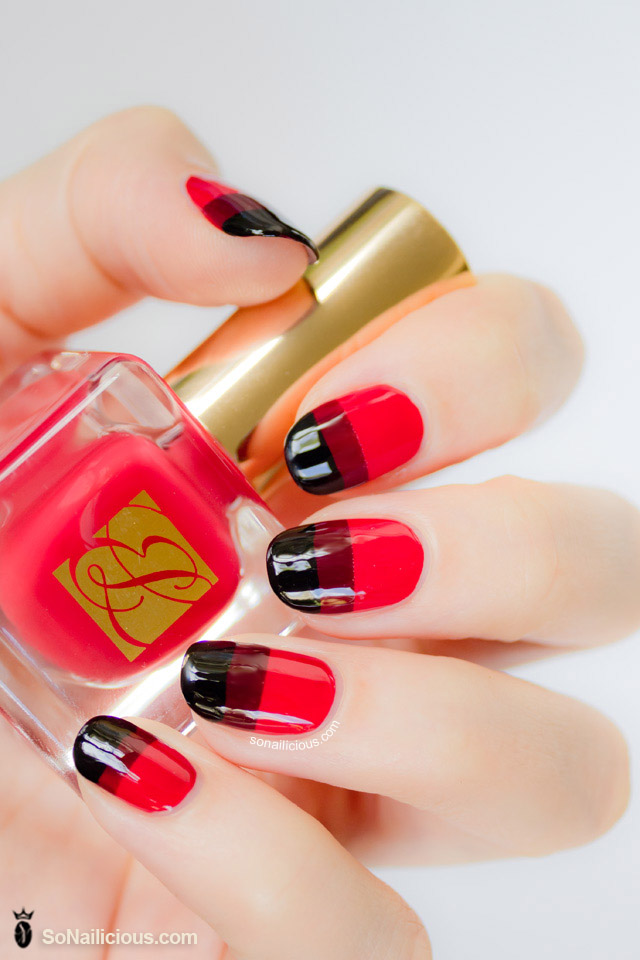 red nails, red nail designs