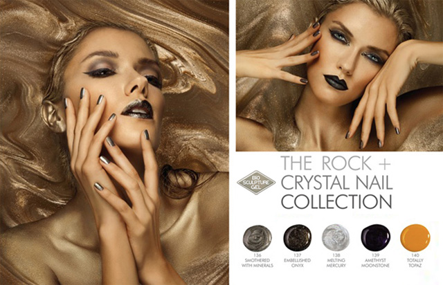 Bio Sculpture Rock and Crystal nail collection winter 2013