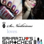 SoNailicious Loves: Sarah of Samarium's Swatches